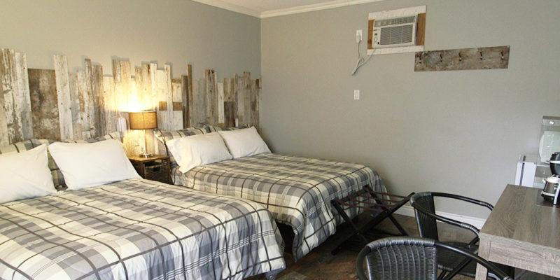 Chambres 2 Lits Double Motel La Source A Coaticook